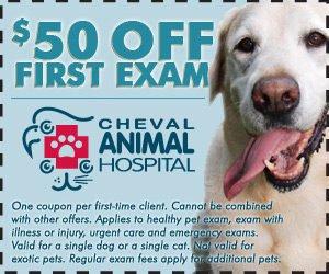 $50 Off Coupon - Lutz, Florida - Cheval Animal Hospital